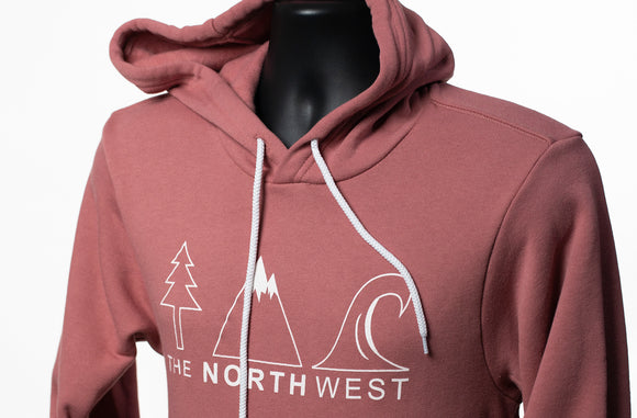 The Northwest Icon Hoodie - Mauve