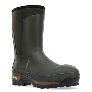 Men's Safety Neoprene Mid Rain Boot
