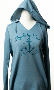 Bainbridge Island Hoodie - Puget Sound (Misty Blue)