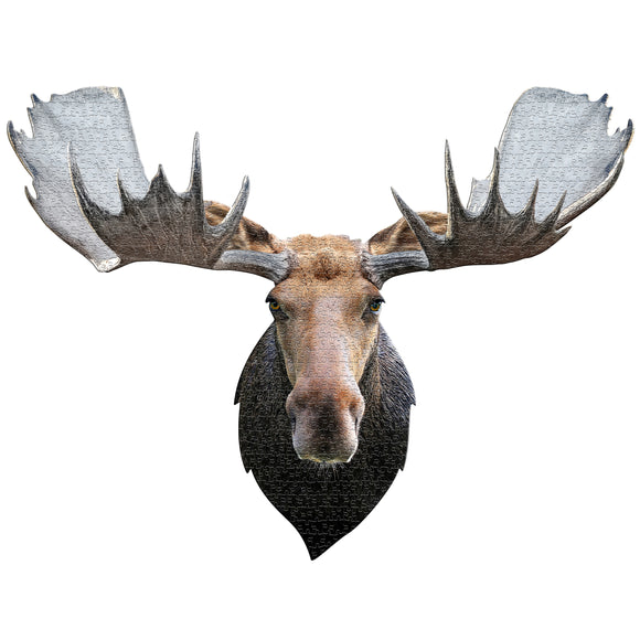 Moose Display 700 Piece Puzzle by Madd Capp
