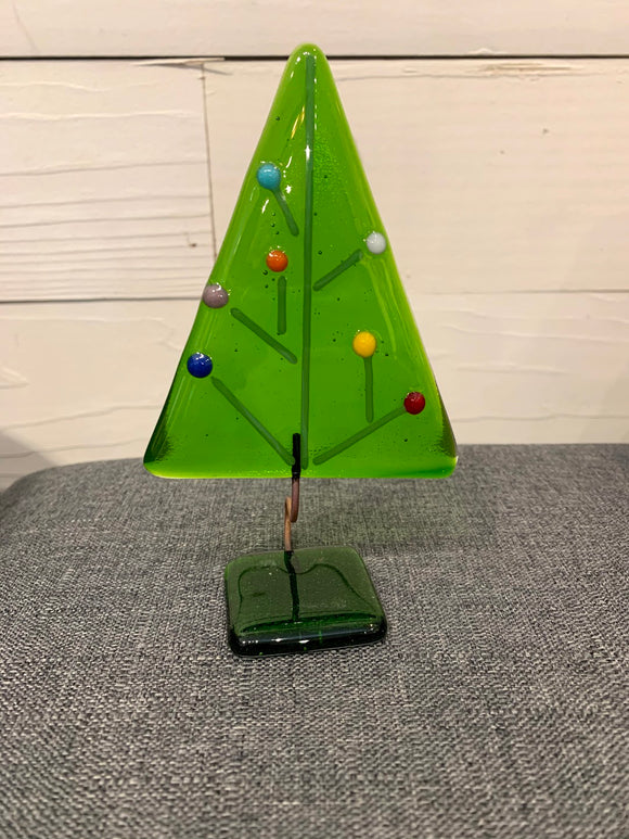 Ebba's Whimsical Glass Christmas Tree