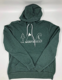 The Northwest Icon Hoodie [Heather Forest]
