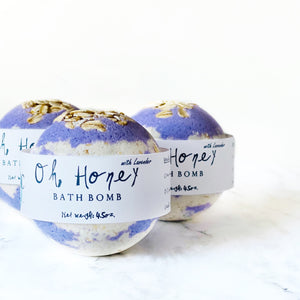 Oh Honey with Lavender Bath Bomb