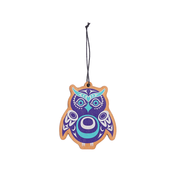 Owl Ornament - Native Northwest