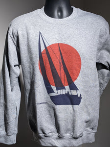 Morning Sun Crewneck [Grey]