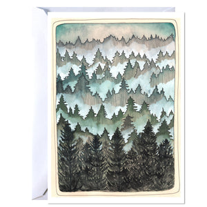 Pacific Northwest Woods Card