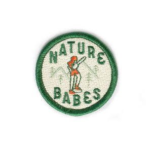Nature Babes Circle Patch
