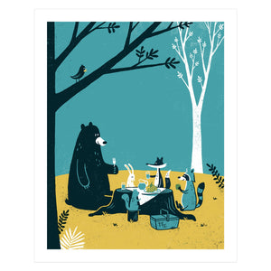 Picnic Screen Print