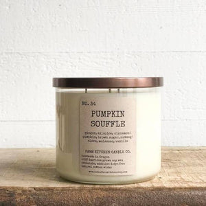 Pumpkin Souffle Soy Candle (Large)
