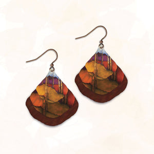 SH01GE - Illustrated Light - Abstract Earring