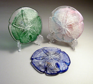 Sand dollar Glass