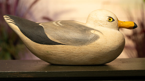 Seagull - Large Hand Carved Decoy