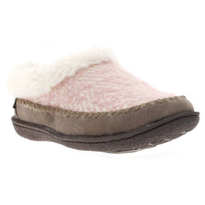 Women's Serene Brush Knit Slipper - Taupe Blush