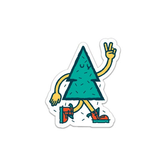 Peace Tree Friend - Sticker