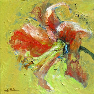 """Summer Lily, I"" - Christopher Mathie Fine Art"