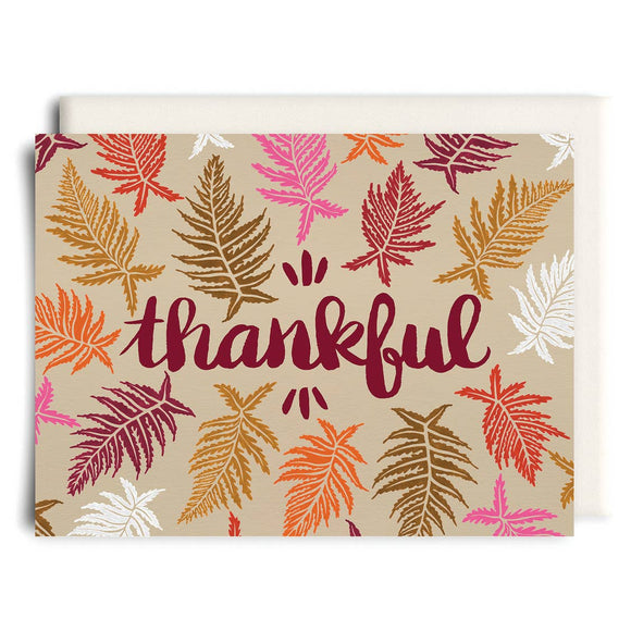 Thankful | Thanksgiving Greeting Card