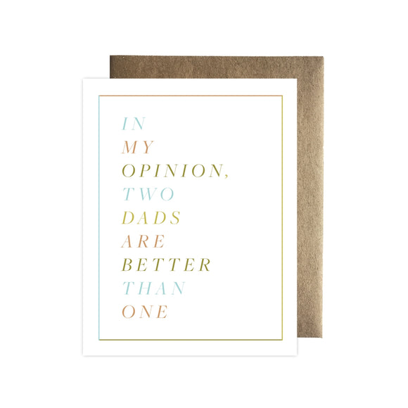 Two Dads | Greeting Card