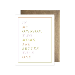 Two Moms | Greeting Card