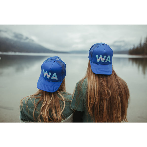 WA Mount Rainier Trucker Hat - Adult