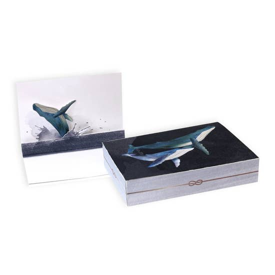 Whale Pop Up Card Cards