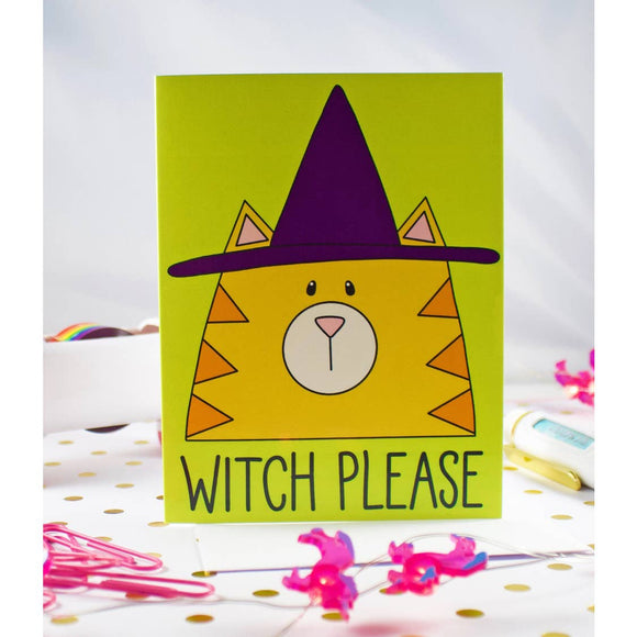Witch Please Card