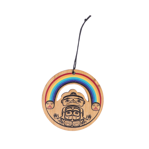 Rainbow Ornament - Native Northwest