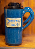 Bainbridge Island Travel Mugs by Yvonne Pottery