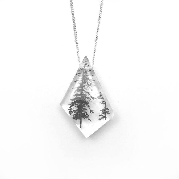 Geo Forest Necklace