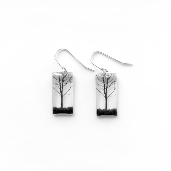 Small City Tree Earrings