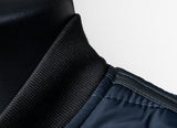 Men's Navy Blue Quilted Vest