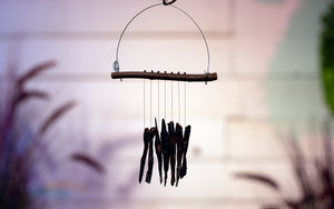 Obsidian Wind Chime