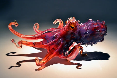 Pacific Coast Glass Octopus