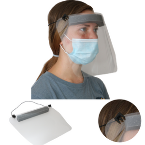 Protective Face Shields | Adjustable  Strap and Extreme Lightweight  | Family Owned USA Company