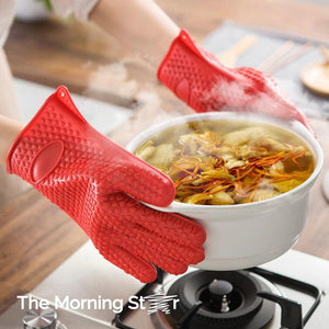 Heat Resistant Cooking Glove - The Morning Star