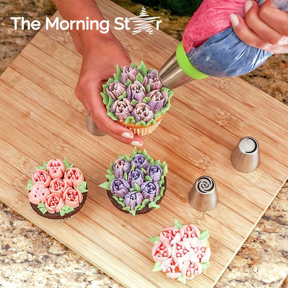 Secret Russian Piping Tips Set - The Morning Star