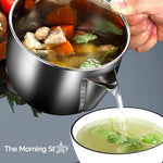 Stainless Steel Grease Filter Pot - The Morning Star