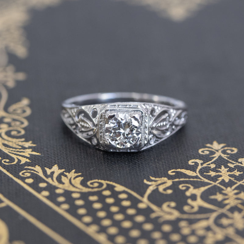 .50ct Vintage Solitaire Ring