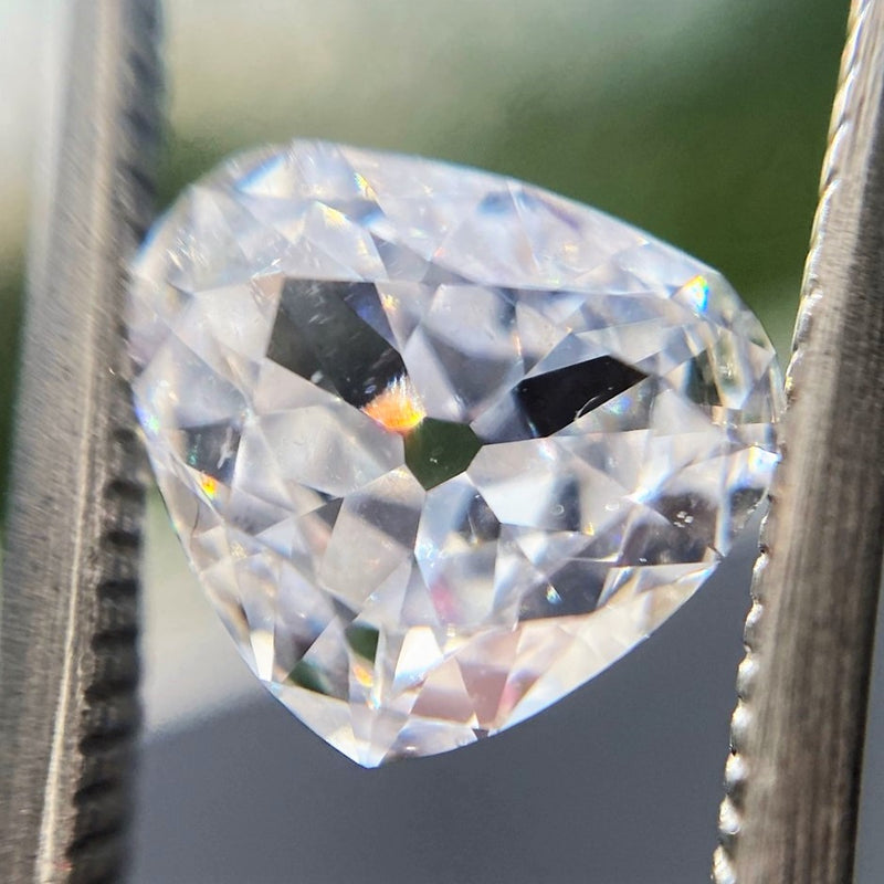 1.18ct Antique Heart Shaped Diamond, GIA E SI1