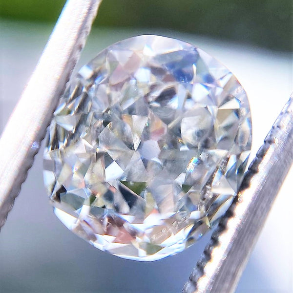 1.54ct Old Mine Cushion Cut Diamond, GIA K VS1