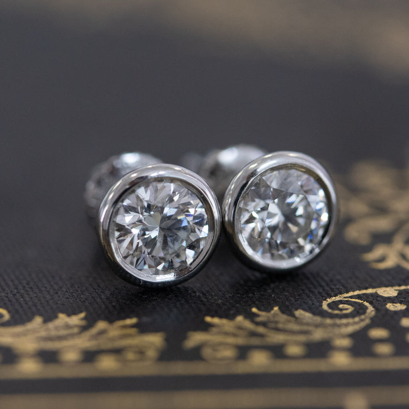 1.60ctw Diamond Earrings, Elsa Peretti for Tiffany & Co.