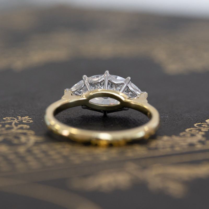 2.02ct Antique Marquise Diamond Solitaire, by Erika Winters