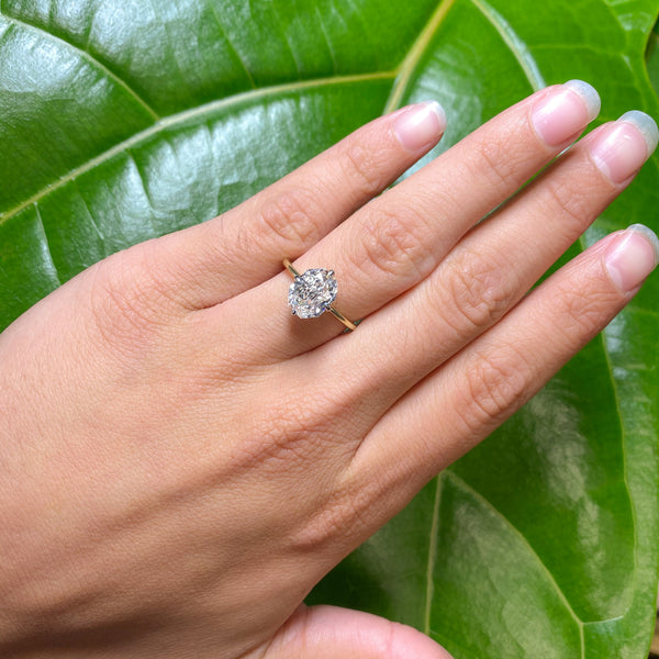2.07ct Octagonal Elongated Radiant Solitaire, GIA G VS2