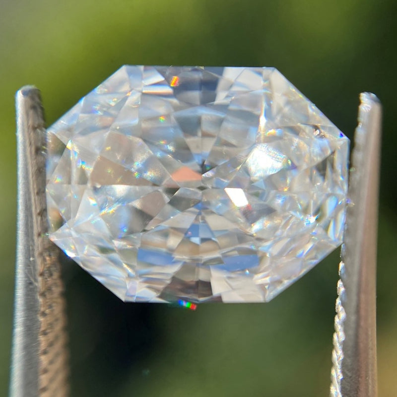 2.07ct Octagonal Radiant Cut Diamond, GIA G VS2