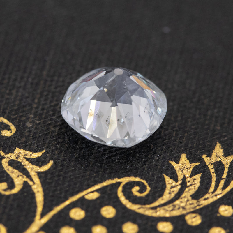 2.25ct Old Mine Cushion Cut Diamond, GIA J SI2
