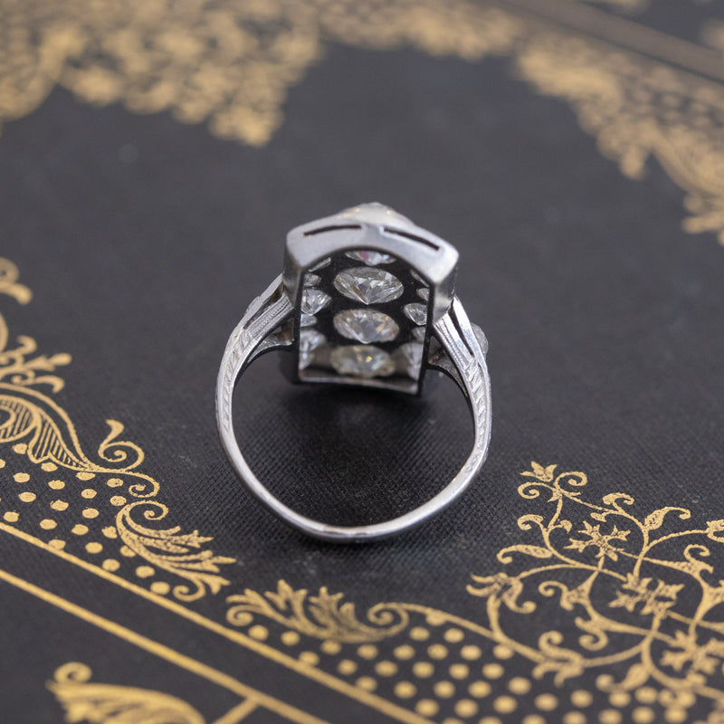 4.64ctw Edwardian Dinner Ring