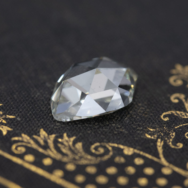 4.85ct Marquise Rose Cut, GIA UV SI2