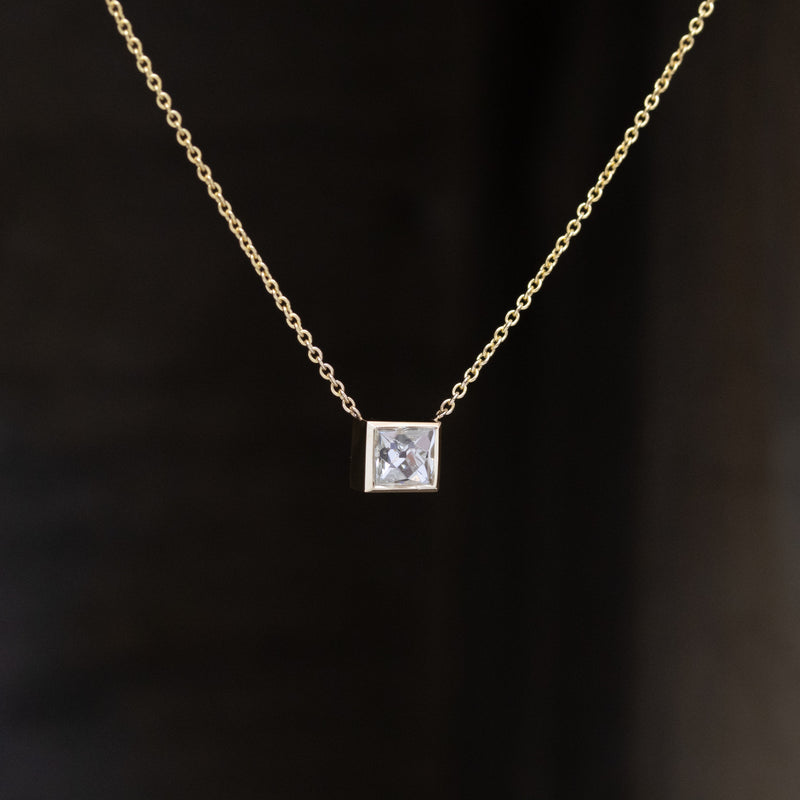 .53ct French Cut Diamond Pendant