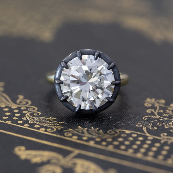 7.45ct Round Brilliant Solitaire