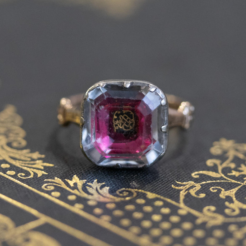 Antique Stuart Crystal Ring