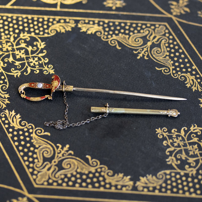 Antique Sword Pin